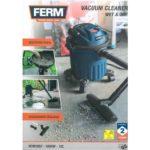 ferm vacuum cleaner wetdry