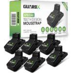 guardx 6 stuks premium muizenvallen inclusief e book