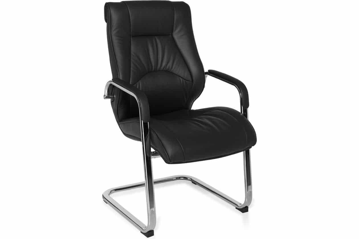 vergaderstoel-bezoekersstoel-ergonomisch-leer