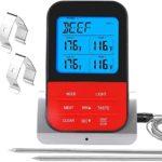 vleesthermometer draadloos met timer