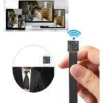 4 kleine draagbare spy camerawifi verborgen camera digitale wekker
