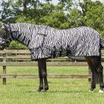 qhp vliegendeken zebra met hals en masker 2