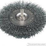 silverline staalborstel wiel 75 mm