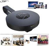 Wifi Chromecast - Miracast - HDMI Dongle - Mediaplayer - TV stick - TV screencast mirror - 1080 P - Airplay
